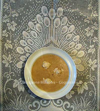 Antonin Carême's Barley soup. Photo Christianne Muusers