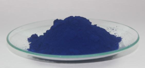 Prussian blue (source: wikipedia)