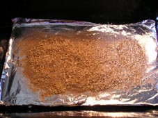 Sawdust before smoking