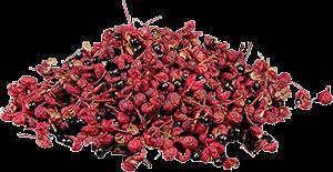 Vruchten en zaden van sansho peper Bron: Wikimedia