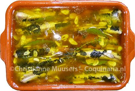 Spaanse sardines in olie en azijn