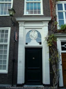 The catholic clandestine church in the Juffrouw Idastraat in The Hague (Netherlands)