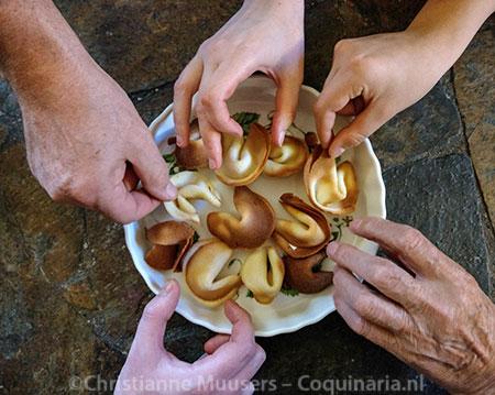 Fortune cookies als Sinterklaaslootjes