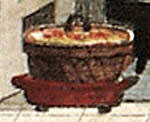 A real Dutch oven, or toertpanne (1827)