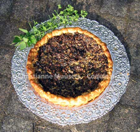 Mushroom pie from Lancelot de Casteau