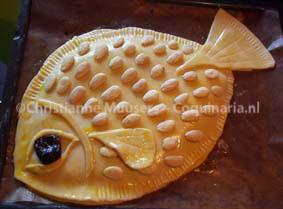 The 'Fake Fish', recipe 64 from this manuscript