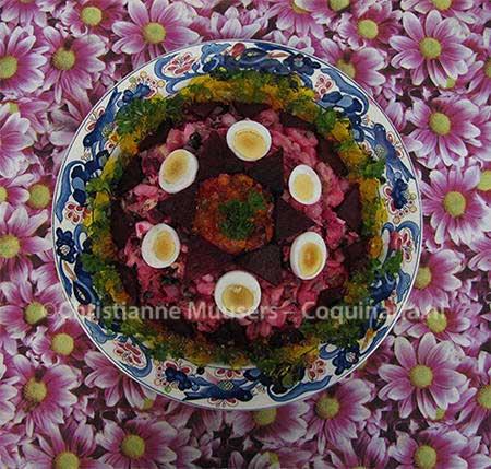 Vinigret, Russian salad